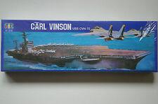 MAQUETA PORTAVIONES CARL VINSON USS CVN-70 DE LEE