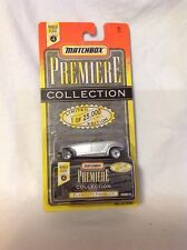Matchbox Premiere Collection Series 4 Plymouth Prowler Silver/Gray NIP  34363