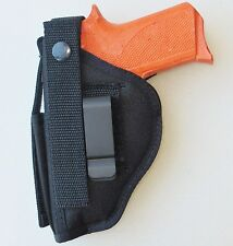 Gun Holster Hip Belt for REMINGTON R51 Pistol - Built in Extra Magazine Pouch