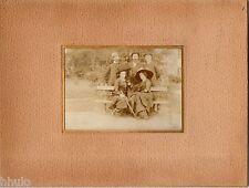 C283 Photographie vintage original Jules Gateau Chateauroux et famille Lami