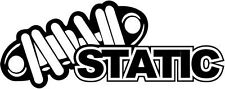 """Static JDM Decal Sticker Car Truck Window- 6"""" Wide White Color"""