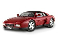 FERRARI 348 ts DIE CAST 1/18 RED BY HOT WHEELS ELITE x5480