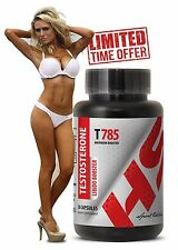 Testosterone Test - Testosterone Libido Booster T785  (1 Bottle, 30 Capsules)