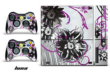 Skin Decal Wrap for Xbox 360 E Gaming Console & Controller Sticker Design LNA