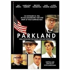 PARKLAND The MOVIE on a DVD with ZAC EFRON of JFK John KENNEDY ASSASSINATION New