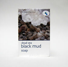 Jericho Dead Sea Black Mud Soap 4.4 Oz for Psoriasis Eczema Rosacea All Natural