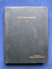 THE INFORMER Screenplay SIGNED by JOHN FORD, VICTOR MCLAGLEN & CAST
