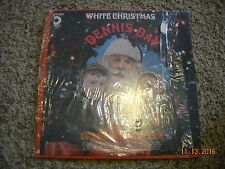 DENNIS DAY WITH ORCHSTRA AND CHOIR WHITE CHRISTMAS SHRINK VINYL STEREO DESIGN LP