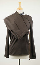 NWT BRUNELLO CUCINELLI Woman's Brown Wool Blend Sweater Twinset Size 40/4 $2525