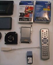 Ms. Pacman Plug and play, Garmin Nuvi, Ink,& Various Other Electronic Lot!