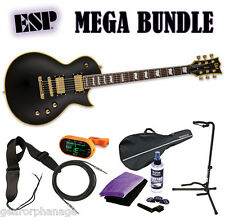 ESP LTD EC-1000 VB Duncan EC-1000 DR *New* Vintage Black! VBDR - MEGA BUNDLE 2