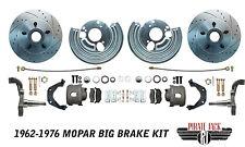 Mopar 1962-72 B  Body High Performance Big Rotor Front Disc Brake Conversion Kit