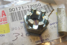 YAMAHA YT60  YT125  YT175  TRI-MOTO  GENUINE FRONT WHEEL AXLE NUT  # 90171-12050