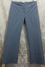 NEXT Black & White ( Looks Grey) Dogtooth Trousers Small Belt Loops 8R CLEARANCE