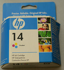 (PRL) HP 14 ORIGINALE CARTUCCIA INCHIOSTRO INK CARTRIDGE TRI-COLOUR C5010DE