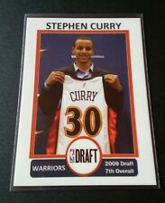 Stephen Curry Rokkie 2009 Trading Card NBA 1st Round Draft Pick Warriors