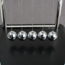 Newtons Cradle Balance Steel Ball Physics Science Pendulum Office DeskDecor Gift