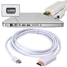 1.8M ADAPTATEUR MINI DISPLAY PORT VERS HDMI POUR APPLE MAC MACBOOK PRO AIR