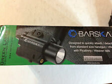 BARSKA AU11846 5mW Green Laser w/ 200 Lumen Flashlight in Box