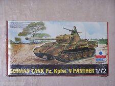 Maquette ESCI 1/72ème  GERMAN TANK Pz. Kpfw. V PANTHER n° 8026