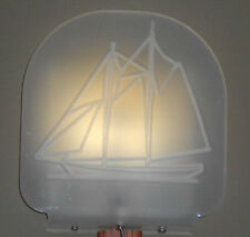 Fancy Sailboat Light, Marine Grade Fixture with LED Light