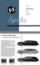 Cadillac 1950 - Get the Best - Get S & S - Superline Features and Specifications