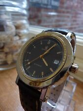 MENS  VINTAGE  AUTOMATIC  MASERATI TRIDENT WATCH. Swiss Made