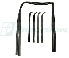 1980-1986 Ford Truck,Ford Bronco, Front Door Window Glass weatherstrip Kit