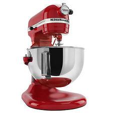 KitchenAid RKV25G0XER Empire Red 5-quart Pro 5 Plus Bowl-Lift Stand Mixer (Refur