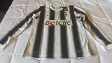 2011 12 DEL PIERO JUVENTUS MATCH JERSEY 10 PERSONALIZATION TO APPLY NEW XL NIKE