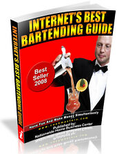 INTERNET'S BEST BARTENDING GUIDE PDF EBOOK FREE SHIPPING RESALE RIGHTS