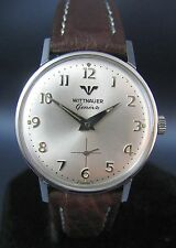 Vintage Longines Wittnauer Stainless Steel Hand Winding Mens Watch 11K 17J 1960s