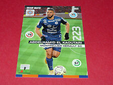 A. EL KAOUTARI MONTPELLIER MHSC MOSSON FOOTBALL ADRENALYN CARD PANINI 2015-2016