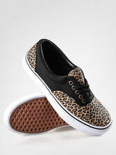 Vans Era 2 Tone Leopard/Herringbone Men's Classic Skate Shoes Size 10