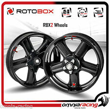 Rotobox Carbon fiber Couple of Wheels for Ducati 999