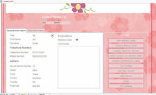 Personal Contacts & Address Labels  Database  Easy to Use on MS ACCESS