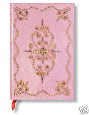 Paperblanks Writing Book Lined Mini Size Journal Cotton Candy Blush Pink 3x5 New
