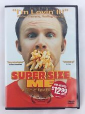 Super Size Me DVD 2004 Winner Sundance Film Festival A Film of Epic Portions