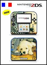 SKIN STICKER AUTOCOLLANT DECO POUR NINTENDO 2DS REF 68 DOG