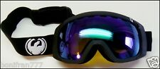 NEW Dragon ROGUE Goggles Ski Snowboard~COAL/GREEN IONIZED+Rose LENS~OAKLEY