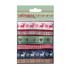 Papermania 'Christmas in the Country' Ribbon Assortment