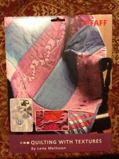 PFAFF Quilting With Textures Multiformat Embroidery Designs on CD
