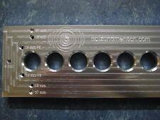 Lochreihe, Bohrschablone, Bohrlehre, Dübel, Schablone, 32mm Raster, 660mm, ECO