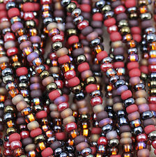 """SELECT YOUR MIX - VIBRANT COLORS, 8/0 CZECH SEED BEADS - 6/20"""""""