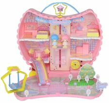 Takara Tomy Koeda Chan Little Twin Stars Kiki & Lala Moon House Doll Set Sanrio
