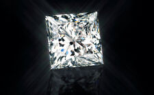 1.00ct VVS1-G Princess Cut Lab Created Loose Diamond 5.5mm Certified Moissanite