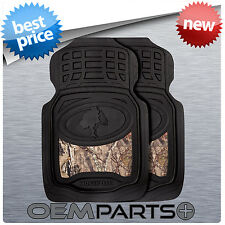 2X MOSSY OAK FRONT FLOOR MATS BREAK-UP COUNTRY CAMOUFLAGE TRUCK SUV CAR PAIR SET