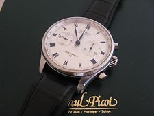 Paul Picot PP-4109 Gentleman Chronograph 42mm Automatic. White Dial New