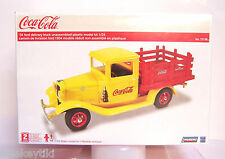 1/24 scale Vintage 1934 34 Ford Coke Coca Cola Delivery Truck Plastic Model Kit