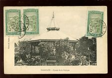 South Africa France Madagascar TAMATAVE Square de la Musique Bandstand 1917 PPC